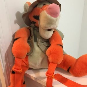 Tigger child pre-owned backpack from Disney World
